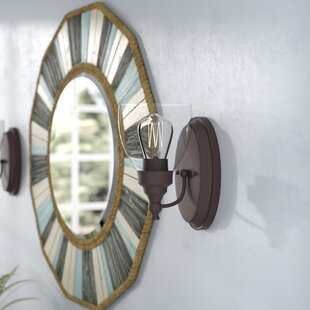 Durst Transitional 1-Light LED Armed Sconce by Breakwater Bay