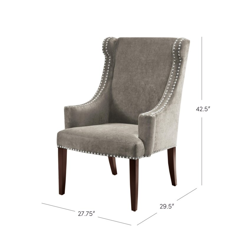 Farley High Back Wingback Chair