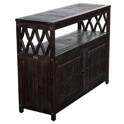 Buecker Wooden Buffet & Console Table by Highland Dunes Top Reviews