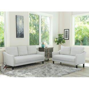 Buckwalter 2 Piece Living Room Set