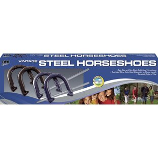 Verus Sports Vintage Horseshoes Set