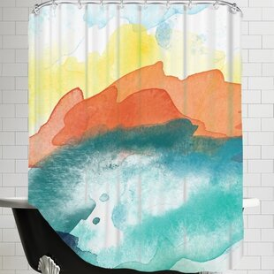 Amy Brinkman Abstract 3 01 Single Shower Curtain