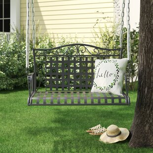 Saundra Iron Porch Swing