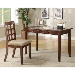Winston Porter Keeton Wooden 2 Piece Desk Set