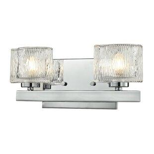 Latitude Run Kolar 2-Light Vanity Light