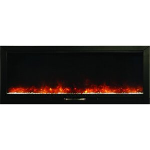 Knock Out Built In Wall Mount Electric Fireplace by Y Decor