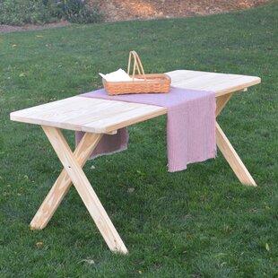 Tristan Pine Cross-leg Picnic Table Buy & Reviews