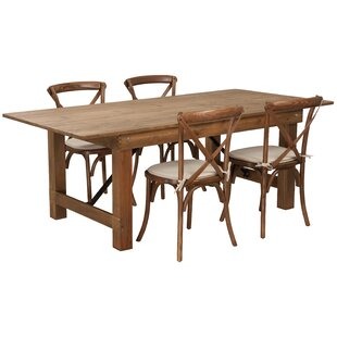 Pitre 5 Piece Dining Set by Gracie Oaks Bargain