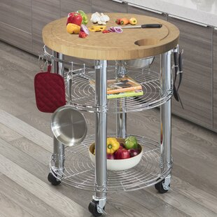 Staab Prep Table with Bamboo Top by Latitude Run