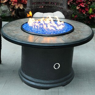 Tretco Chat Magnesium Oxide Propane Fire Pit Table