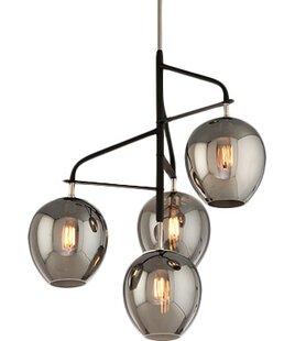 Satchell 4-Light Sputnik Chandelier