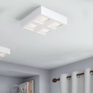 Oviedo 4-Light LED Flush M..