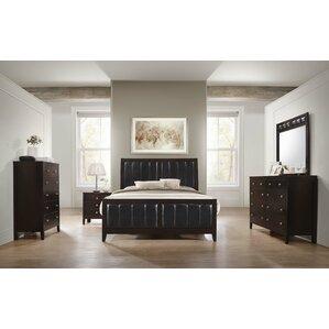 Conrad Upholstered Customizable Bedroom Set