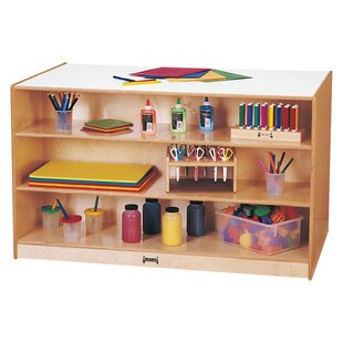 Savings Island Double Side 17 Compartment Cubby with Casters ByJonti-Craft