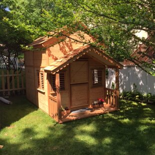 Little Alexandra 6.17' X 10' Playhouse By Canadian Playhouse Factory