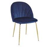 Bevilacqua Velvet Upholstered Side Chair (Set of 2) by Everly Quinn