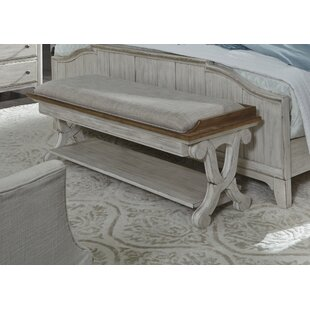 Clairmont Bedroom Wood Bench