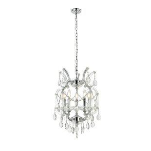 Regina Traditional 5-Light Candle Style Chandelier by House of Hampton