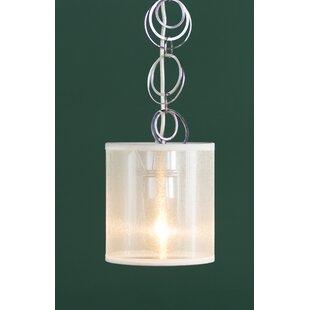 Willa Arlo Interiors Dezirae 1-Light Drum Pendant