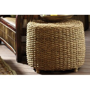 Water Hyacinth Braided End Table by Ibolili