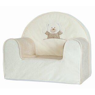 Cruz Plush Toddler Foam Club Chair