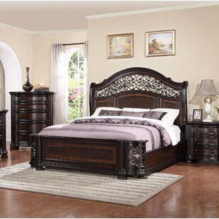 Winkelman King Panel Bed by Fleur De Lis Living