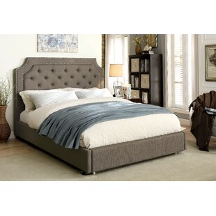 Bentonville Upholstered Platform Bed by Darby Home Co