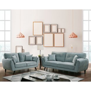 Iconium 3 Piece Standard Configurable Living Room Set by Brayden Studio