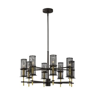 Lorentz 8-Light Candle Style Chandelier