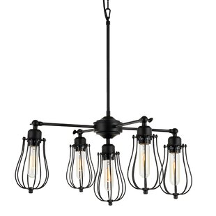 Williston Forge Gilligan 5-Light Sputnik Chandelier
