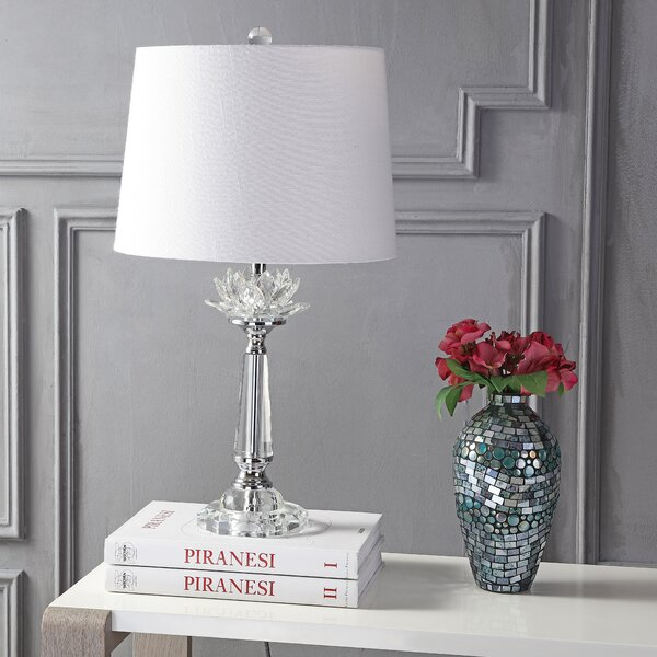 Floating crystal table lamp wayfair greentooth Images