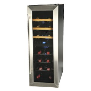 21 Bottle Dual Zone Freestanding Wine Coo..
