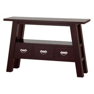 Review Sylas Fine Handcrafted Console Table By Darby Home Co