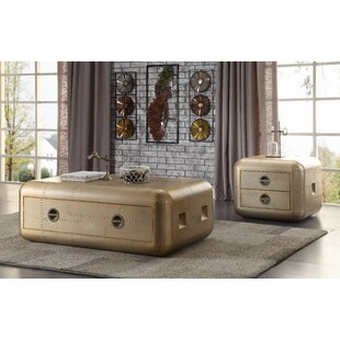 Edmonia 2 Piece Coffee Table Set