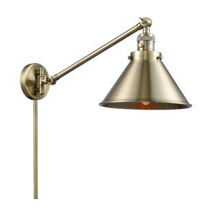 Laurel Foundry Modern Farmhouse Stonecrest 1-Light Swing Arm Lamp