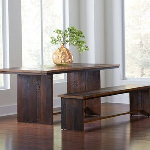 Reclaimed Elm Dining Table by VivaTerra