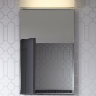 PL Series 23.25 x 39.38 Mirrored Recessed Electric Medicine Cabinet Robern