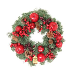 Luxury Apple 40cm Wreath Image