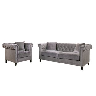 Willa Arlo Interiors Vianna Configurable Living Room Set