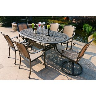 Gunter 7 Piece Dining Set