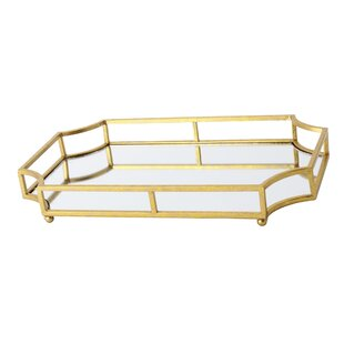 Gold Metal Decorative Trays You Ll Love In 2021 Wayfair