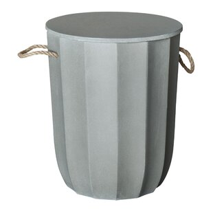 Crutchfield Concrete Accent Stool