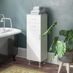 Aspo 33 X 102cm Free Standing Tall Bathroom Cabinet By Symple Stuff