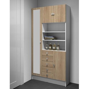 Duty 90 X 181.6cm Free Standing Cabinet By Ebern Designs