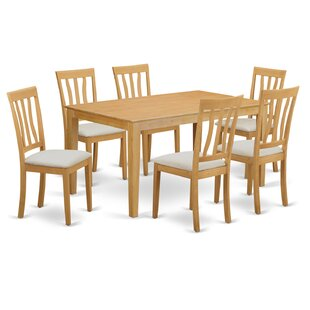 Capri 7 Piece Dining Set
