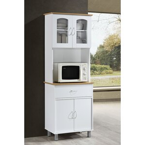 Reynolds Kitchen Island China Cabinet by Andover Mills