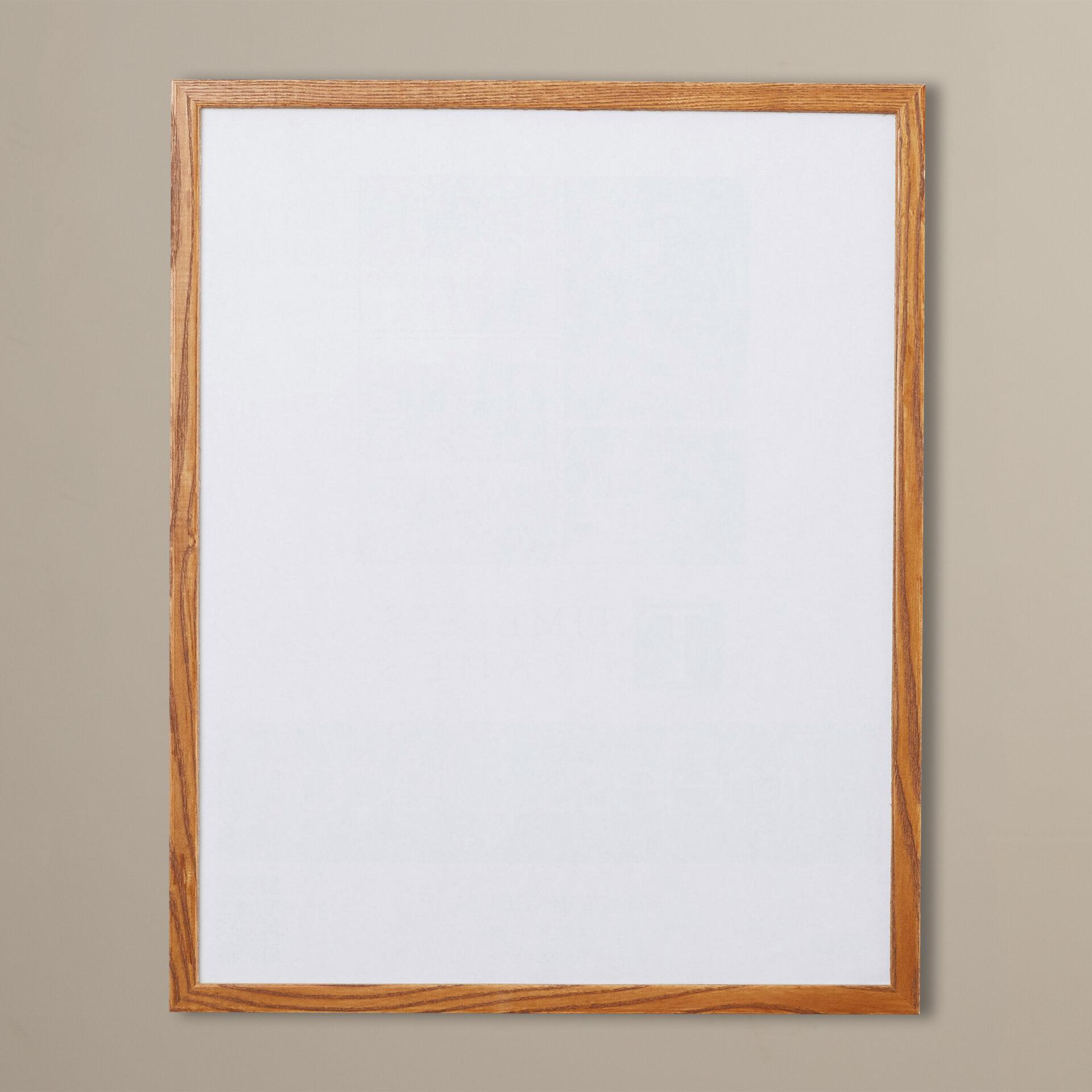 "Solid Zebra Wood Photo Frame Square Wood Grain Finish 12/"" x 12/"" w// Glass Window"