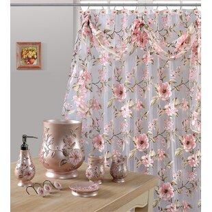 Melrose Sheer Single Shower Curtain
