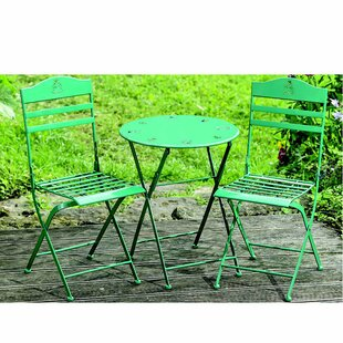 Isaias Kids 3 Piece Patio Table and Chair Set by August Grove