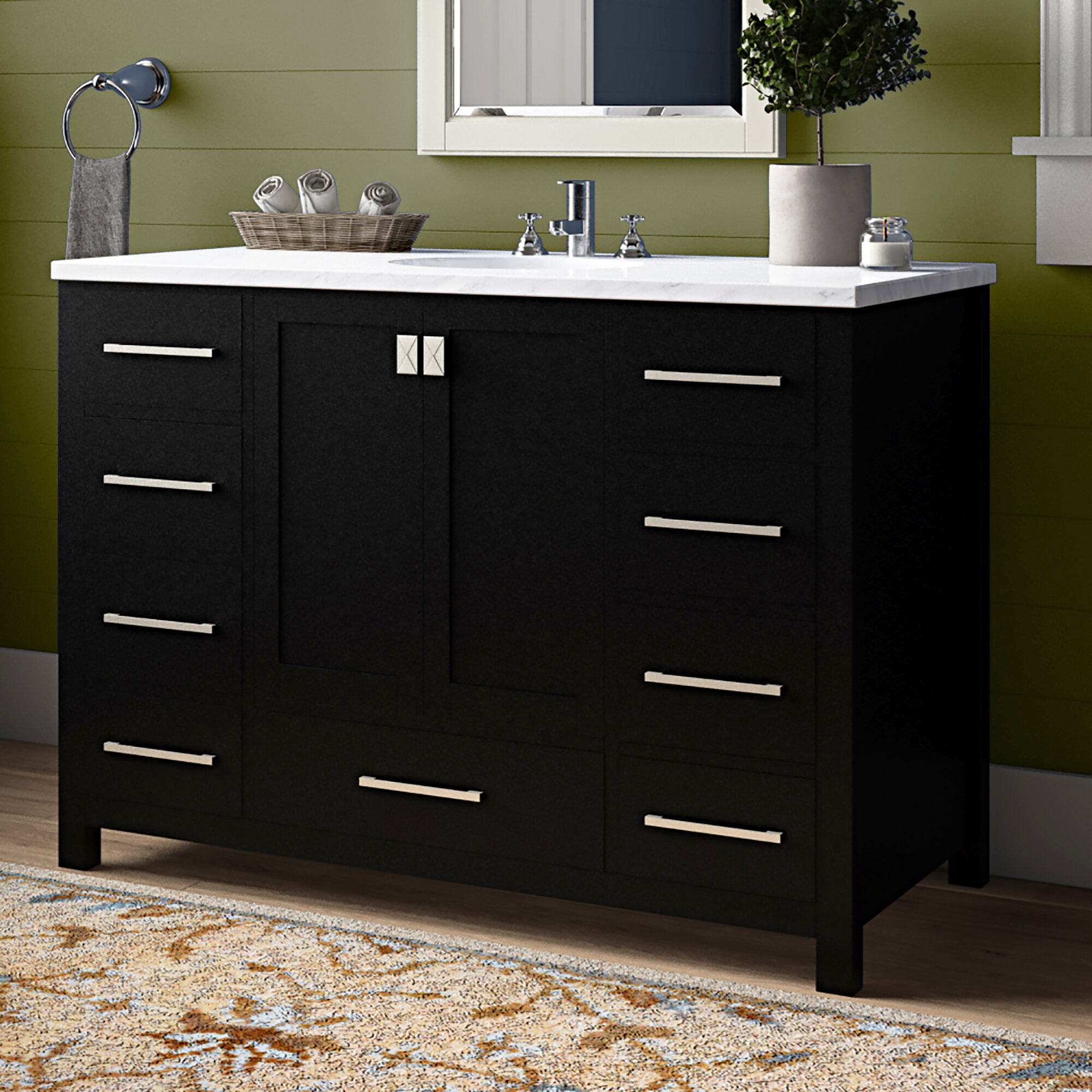 Birch Lane Dickman 48 Single Bathroom Vanity Set Wayfair